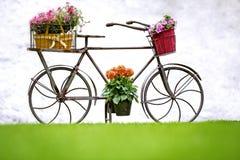 Iron Hand Made Bicycle Stock Photo