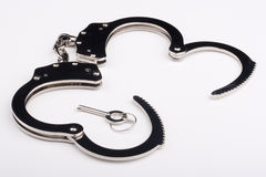 Iron handcuffs Royalty Free Stock Photography