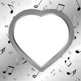 Iron heart Royalty Free Stock Image