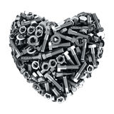 Iron heart Royalty Free Stock Image