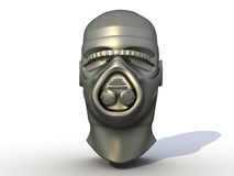 Iron helmet №1 Royalty Free Stock Photos