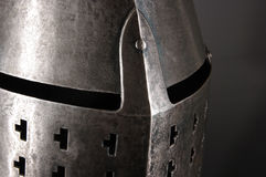 Iron helmet Royalty Free Stock Photography