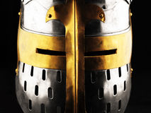 Iron helmet Royalty Free Stock Photo