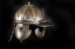 Iron helmet Royalty Free Stock Image