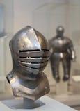 Iron helmet stock image