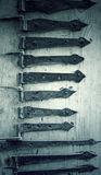 Iron hinges Royalty Free Stock Images