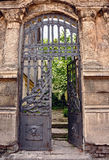 Iron house gate Stock Image