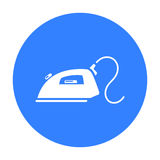 Iron icon. Illustration for web and mobile design. Stock Images
