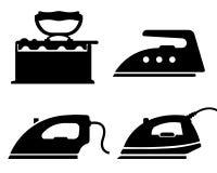 Iron icon in trendy flat style stock illustration