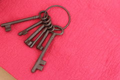 Iron keys Royalty Free Stock Photography