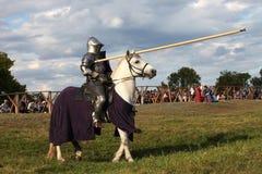 Iron Knight Royalty Free Stock Photo
