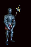 Iron knight Spear Royalty Free Stock Images