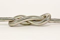 Iron knot Royalty Free Stock Image