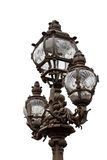 Iron lamp royalty free stock photo