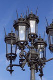Iron lantern in gothic style Stock Photo