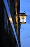 Iron lantern Stock Photo