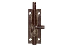 Iron latch for door Royalty Free Stock Photos