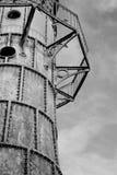 Iron lighthouse Stock Photo