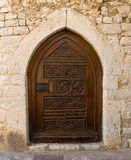Iron Little Door in Eze Stock Image