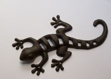 Iron lizard Royalty Free Stock Photography
