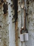 The iron lock Royalty Free Stock Image