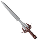Iron longsword Royalty Free Stock Image