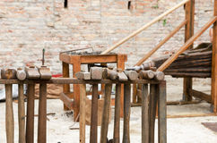 Iron maces Royalty Free Stock Photography