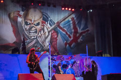 Iron Maiden image stock