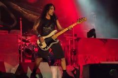 Iron Maiden Imagen de archivo libre de regalías