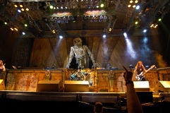 Iron Maiden In Concert Royalty Free Stock Images