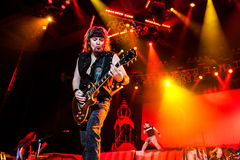 Iron Maiden concert Stock Photography