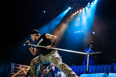 Iron Maiden concert Stock Images