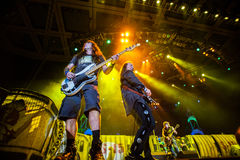 Iron Maiden concert Royalty Free Stock Photography