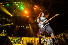 Iron Maiden concert Royalty Free Stock Photo
