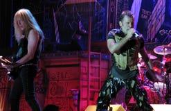 Iron Maiden on tour -  Royalty Free Stock Photography