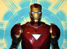 Iron Man Stock Images