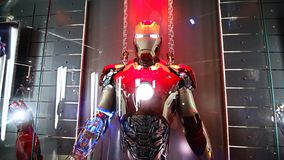 Free Iron Man Head Model At The Avengers Experience Royalty Free Stock Photos - 144310208