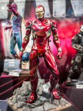 Iron Man mark 46 in Ani-Com & Games Hong Kong. Iron Man mark 46 display in Ani-Com & Games Hong Kong royalty free stock images