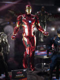 Iron Man mark 46 in Toy Soul 2015 Stock Images