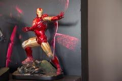 Iron Man Mark VI combat mode on display Royalty Free Stock Photo