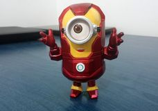 Iron Man Minion Stock Photography