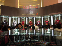 Iron Man 3 Movie Promotion Stock Photography