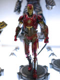 Iron Man in Toy Soul 2015 Stock Photo