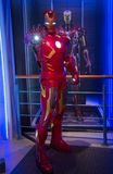 Iron Man w muzeum Madame Tussauds obraz royalty free