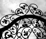 iron marzenie bramę Obraz Stock