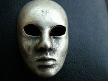 Iron Mask. Metal Made Mask Royalty Free Stock Images