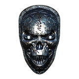 Iron mask. 3D CG rendering of an iron mask Royalty Free Stock Photo