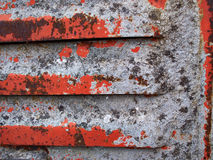 Iron metal surface rust background Royalty Free Stock Photography