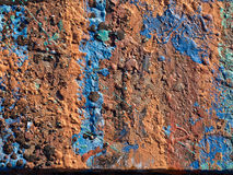 Iron metal surface rust background Royalty Free Stock Image