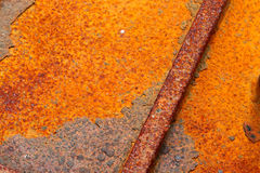 Iron metal surface rust Royalty Free Stock Photo